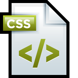 css template