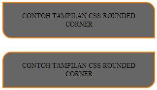 css rounded corner