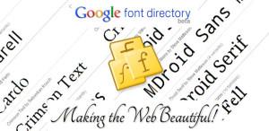 cara memasang google web font