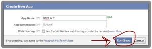 get appID facebook