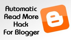 auto readmore blogger