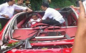 Dahlan Iskan Kecelakaan