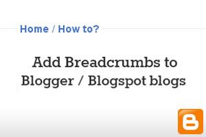 cara membuat breadcrumbs terindex google