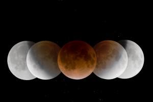 gerhana bulan sebagian 2013