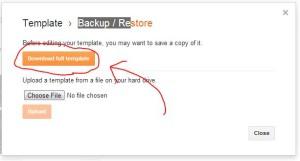 backup template blogspot