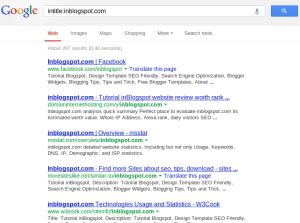 index domain berumur