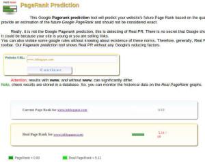 prediksi pagerank google