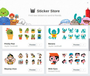 sticker store facebook