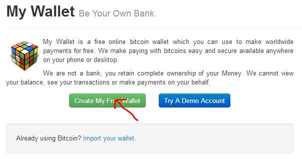 Create Free Wallet
