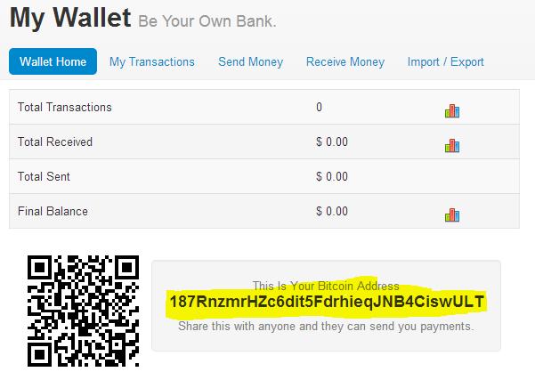 Address bitcoin yang doblock kuning