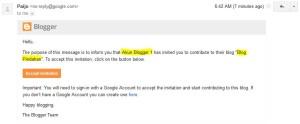 Email Konformasi Pindahan Blogspot