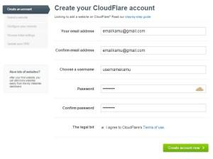 Cara Daftar CloudFlare