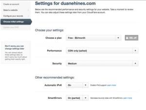 Plan Gratis CDN CloudFLare