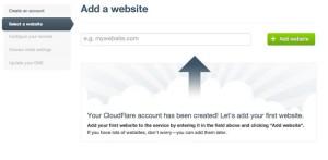 Masukan Domain Kamu Di CloudFlare