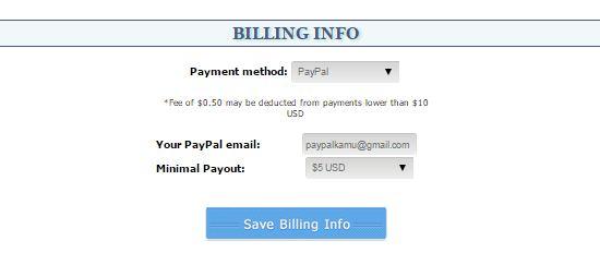 Cara Mengisi Billing Info Yllix