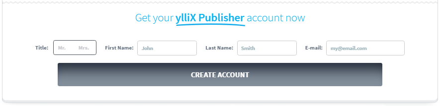 Form Pendaftaran Terbaru YlliX