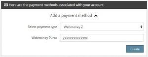 Pembayaran Propeller Via Webmoney Purse
