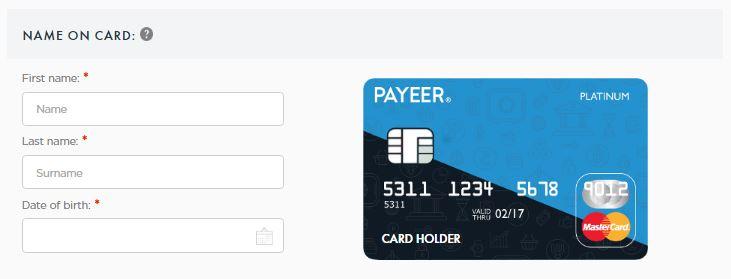 Cara Membuat Kartu Mastercard Payeer