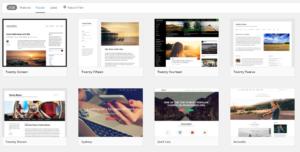 Pilihan Menu Template WordPress