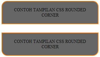 css rounded corner window