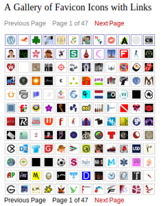 favicon gallery