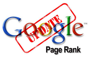 google update pagerank