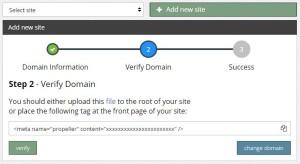Cara Verifikasi Domain Baru dengan Kode Meta Tag