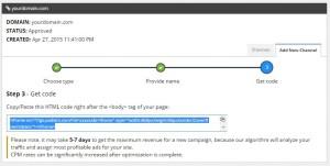 Pasang Kode Iklan di Blog