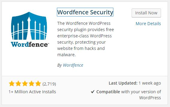 Cara Install Plugin Wordfence