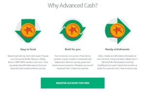 Cara Sign Up Akun Advcash